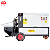 Concrete screw cement peristaltic mortar grout pump concrete transfer mini beton line pump