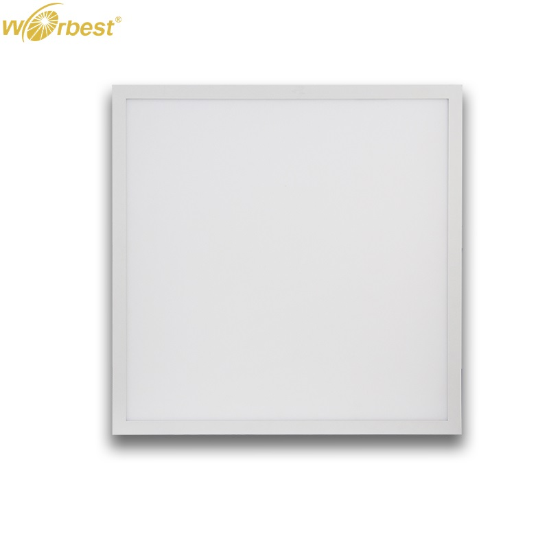 Worbest LED Panel Light 30W UL/cUL DLC LED <strong>Flat</strong> Square Slim Surface Ceiling Lighting