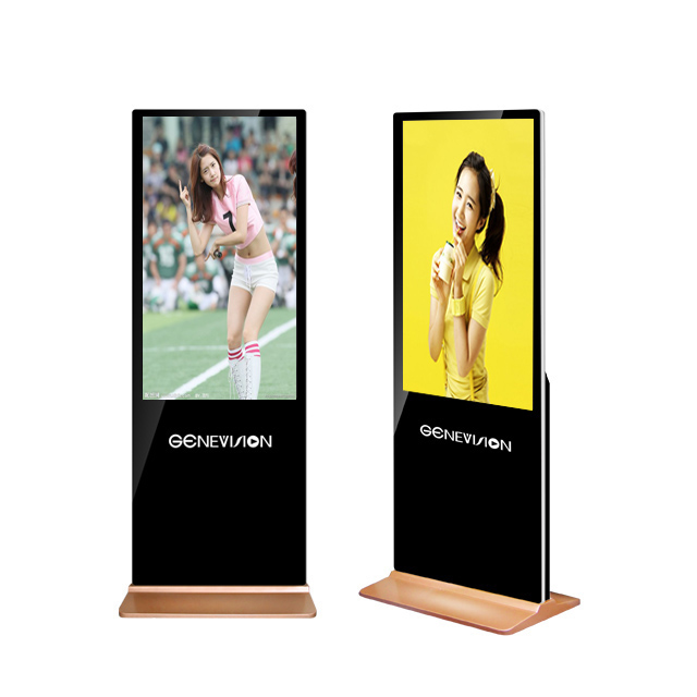 43 inch floor standing LCD digital <strong>Advertising</strong> equipment Player lcd kiosk signage station