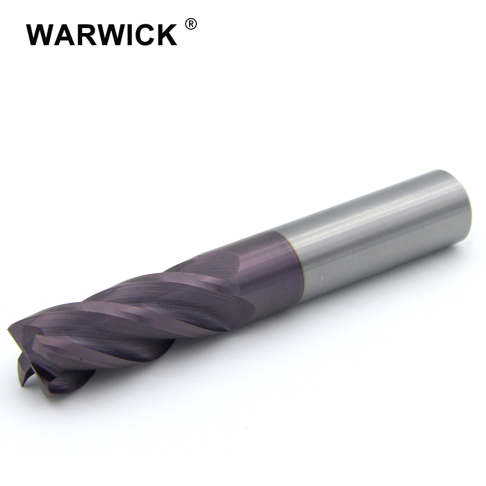 Good Quality solid <strong>carbide</strong> 4mm corner radius end mill cutter
