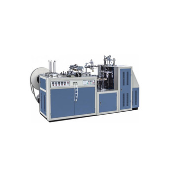 Automatic High Speed Paper Cup Making Machine With Online Handle  Applicator/Fixing