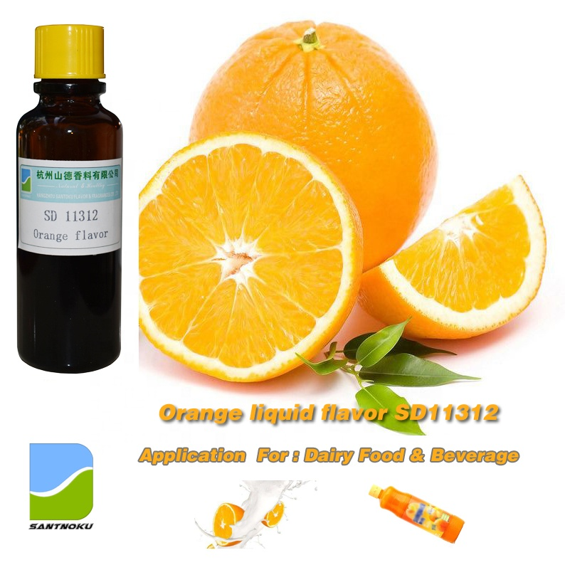 <strong>Orange</strong> liquid oil flavor/ fragrance concentrate SD11312 for Dairy food/ beverages/ juice/ drink