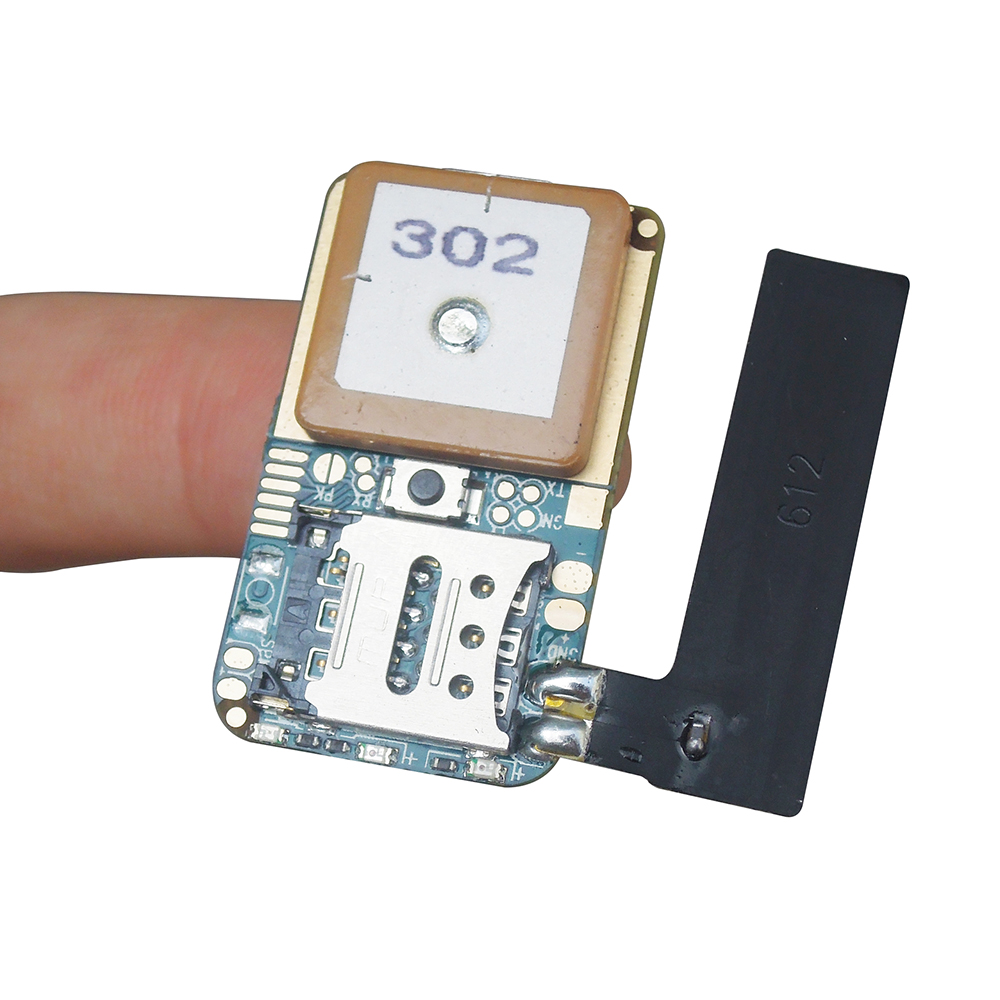 ZX302 mini GPS tracker <strong>pcb</strong>, support GSM quad band LBS Geo-fence SOS for kids/pets/car/bicycle/motorcycle