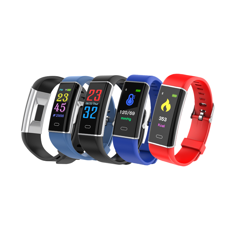 China <strong>D12</strong> Heart Rate Monitoring smart bracelet with IP67 Waterproof, men bracelet smart band to order