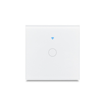 Wireless 1/2/3 gang eu home automation smart wifi light switch compatible with Google home