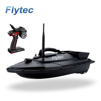 New Flytec V500 500M Fishing Bait Boat 2011-5 Upgrade Version With Multi-function Controller RC Bait Boat For Fishing