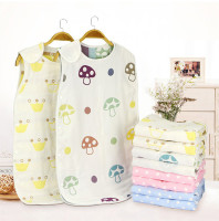 Hot sale personalized cheap lovely embroidered baby sleeping bag cotton sleep bag children