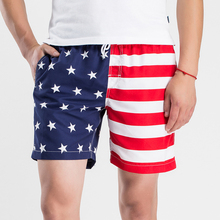 American Flag <strong>Men</strong> Beach Shorts <strong>Men's</strong> Swimsuit Shorts <strong>Men's</strong> Swimwear Briefs Quick Dry Swimming Shorts