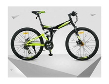 26 inch folding mountain bicycle 27 speed convenient folding mountain <strong>bike</strong> for adults