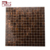 Foshan GUCI brown colored square swimming pool mirror glass mosaic gold line mosaic tiles