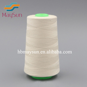 100% Polyester Material and Sewing Use spun polyester yarn spun polyester sewing thread