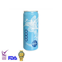 330ml Alu Tinned Fresh Water with BRC,FDA certificate