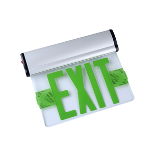 Green light single-sided 6-inch LED emergency exit sign