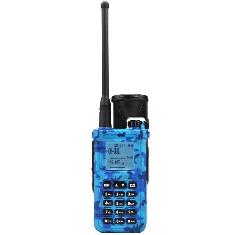 Long Range High 10 Watts Output Power Dual-band Waterproof Ham Walkie Talkie