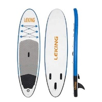 water sport surfing board blue inflatable sup stand up paddle board(LK-300-15)