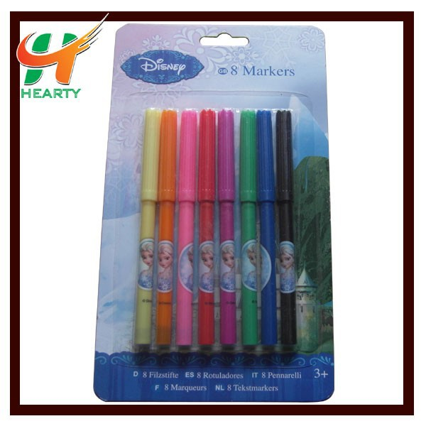OEM Manufactory Supply Free Sample Mark Pen Set with Custom Logo for Promotion
