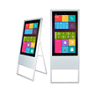 49 inch Floor stand portable kiosk totem media advertising display player lcd digital signage