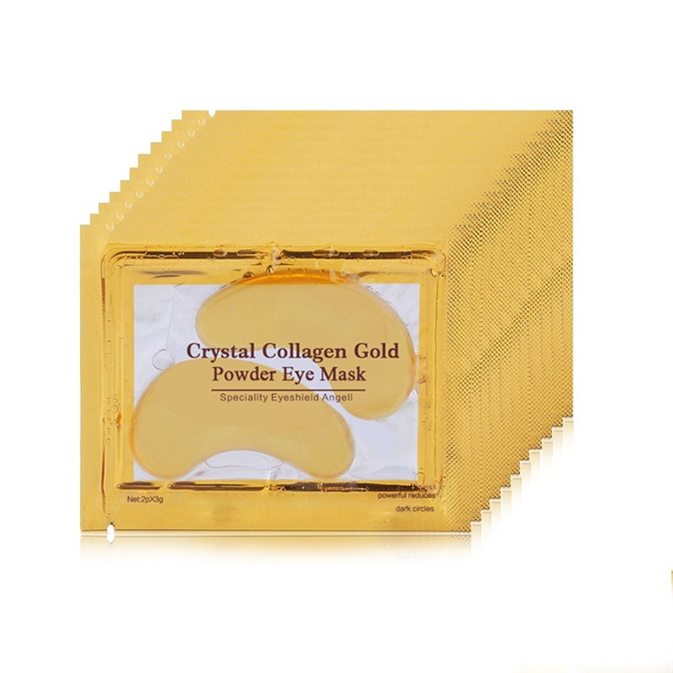 Hottest Under <strong>Eye</strong> 24K Collagen Crystal Gold <strong>Eye</strong> Mask for Skin Care Dark Circles Remove Anti-Aging Wrinkle