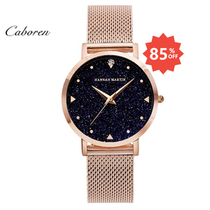 Hot sale fashion starry sky bling cheap wrist watch women lady watch