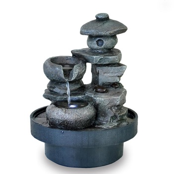 tabletop small garden pagoda japanese water features