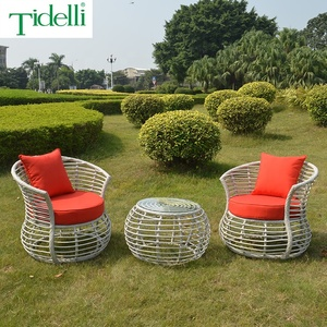Good Price Environmentally Friendly Bistro Peacock Natural Rattan Chair