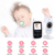 2.4 Inch Wireless Video Baby Monitor with Two-way Talkback, Lullabies, monitor bebe
