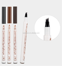 Hot SEXYYSECRET Liquid Eyebrow Pen black Eyebrow 4 Colors 4 Head Eyebrow Enhancer Waterproof