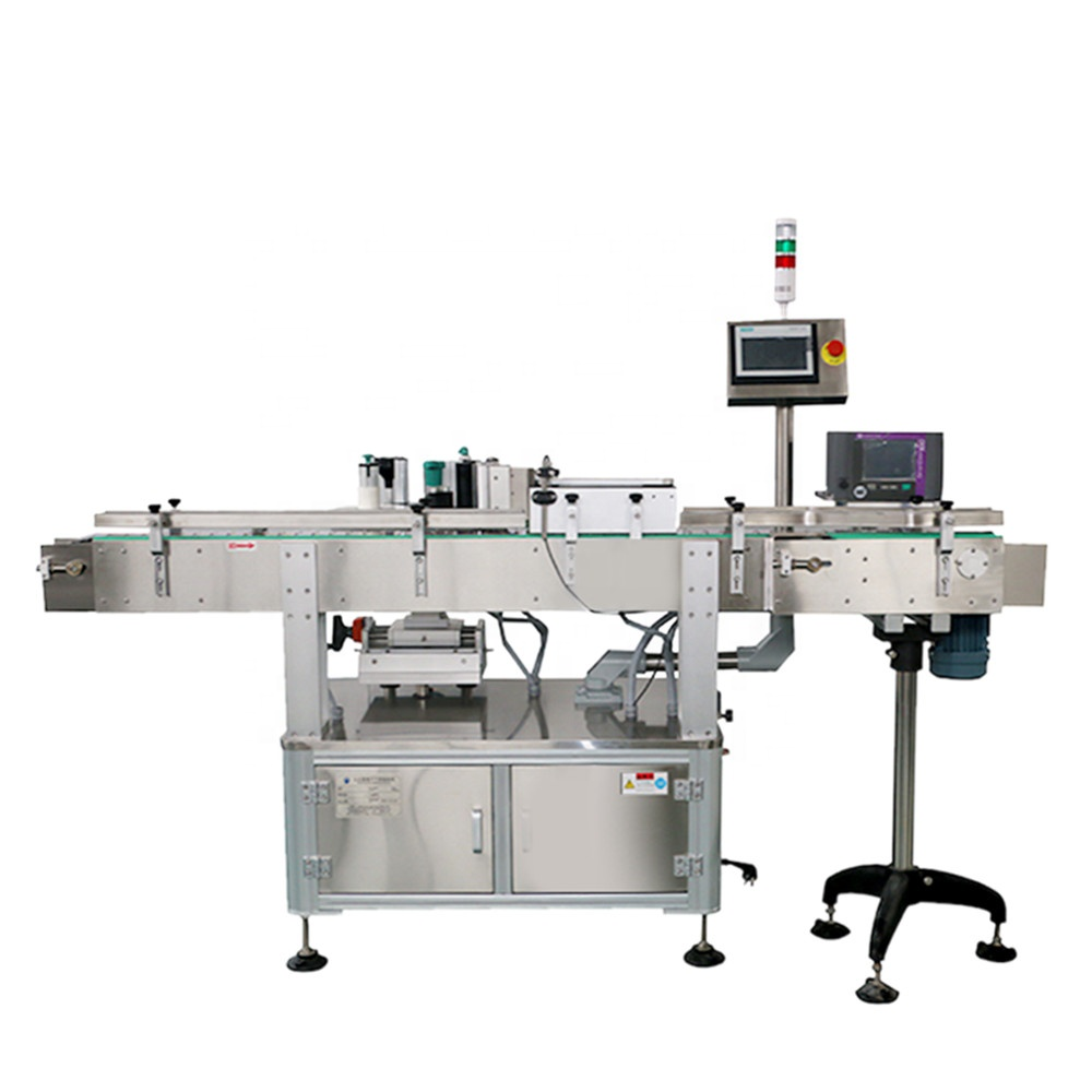 Wrap Around Vitamin Bottle Labeling Machine With <strong>Date</strong>