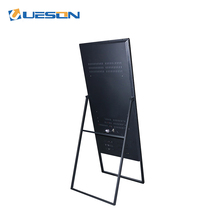 Indoor LCD reclame media player portable floor stand android digital signage