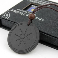 MECYLIFE Hot Sale Power Energy Health Jewelry Necklace Natural Lava Stone Quantum Pendant
