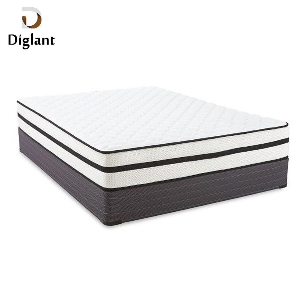 Diglant D6-176 European home bedroom set Individual Support Pocketed Coil mattress polymer king size Mattress - Jozy Mattress | Jozy.net