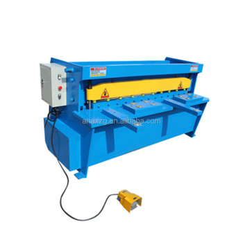 Q11 Energy saving economical 2.5mm 3mm 4mm electric steel sheet cutting machine Price