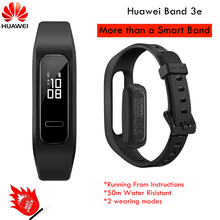 Huawei <strong>smart</strong> band 3e fitness wrist <strong>watch</strong> waterproof Innovative 2 Wearing Modes Footwear Mode