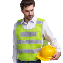 Promotion Ultimate Visibility Reflective Clothing with 5cm <strong>Safety</strong> Bands 18pcs LED Outdoor <strong>Safety</strong> Vest