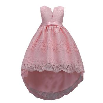 New High quality baby lace princess dress for girl elegant birthday party dress Baby girl's christmas clothes 2-12yrs