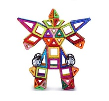 Super bot education plastic magnetic build block toy for <strong>kids</strong>