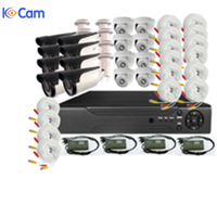 16CH. 32CH. CCTV 1080P HD Camera kits Ahd dvr kit security cctv camera system with bullet outdoor 1080p 2mp hd camera system