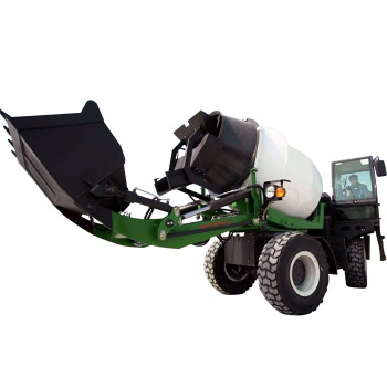 3 cubic meter automatic feeding concrete truck mixer price