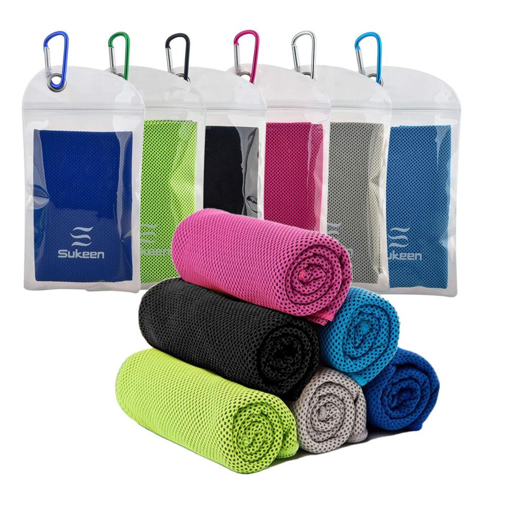 "Hotsale Cooling Towel (40""<strong>x12</strong>"") Ice Towel Soft Breathable Chilly Towel for Yoga, Sport, Gym"