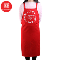factory directly cheap price custom logo print festival celebration gift christmas thanksgiving apron
