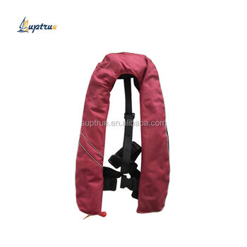 Marine automatic inflatable life jacket wholesale waist belt type