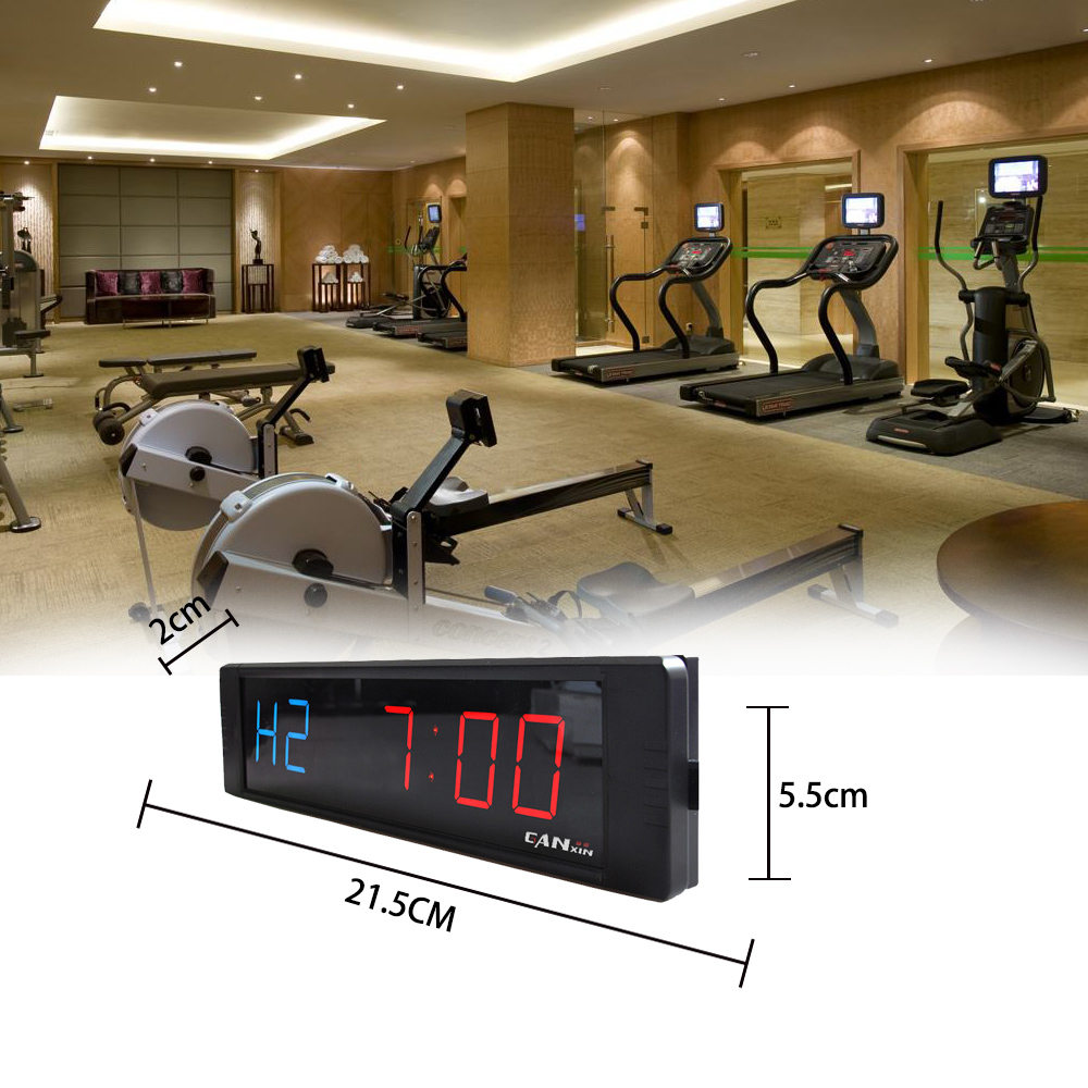 Ganxin Convenient Led Promotion Fitness <strong>Timer</strong> Gym Crossfit Interval Training <strong>Timer</strong>