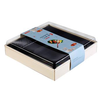 Poplar Wood Sushi Disposable Box