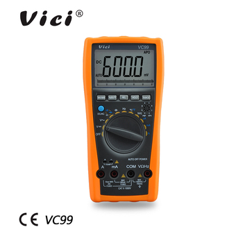 VC99 electrical instruments vichy digital multimeter ac dc voltage tester digital multimeter