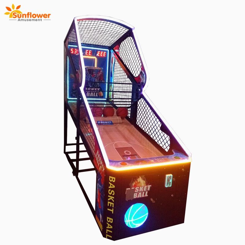 Factory direct sales Sport game machine,2 player PK Basketball coin operated game machine