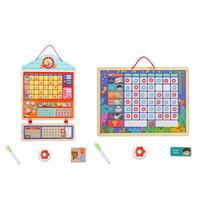OEM/ODM Magnetic Reward Charts For Children Baby Behavior Record Board Toy