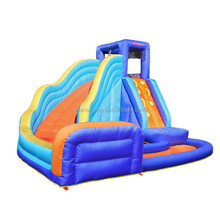 Factory Wholesale Price Combo pool Kids Small Inflatable Water Slide for Sale