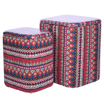 2019 Special Design Popular Storage Stool Moroccan Leather Ottoman Box