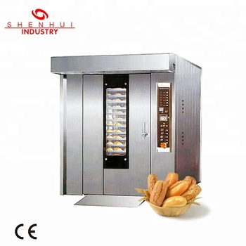SH-100 CE 32 trays big bread oven