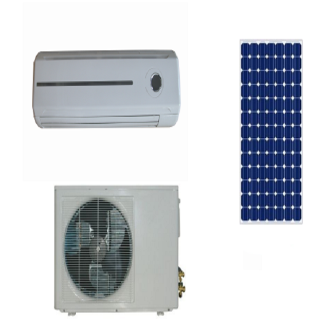 Green <strong>ac</strong> 9000btu hybrid solar system for air conditioner